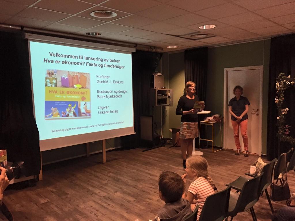 Elisabeth Johansen i Orkana forlag ønsker velkommen!